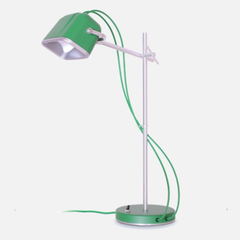 Lampe a poser mob vert h60cm swabdesign normal