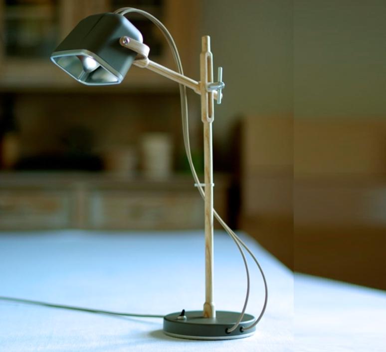Mob wood studio swabdesign lampe a poser table lamp  swabdesign mob 11wogr  design signed 44117 product