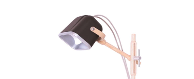 Lampe a poser mob wood noir cm h55cm swabdesign normal