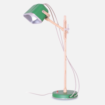 Lampe a poser mob wood vert cm h55cm swabdesign normal