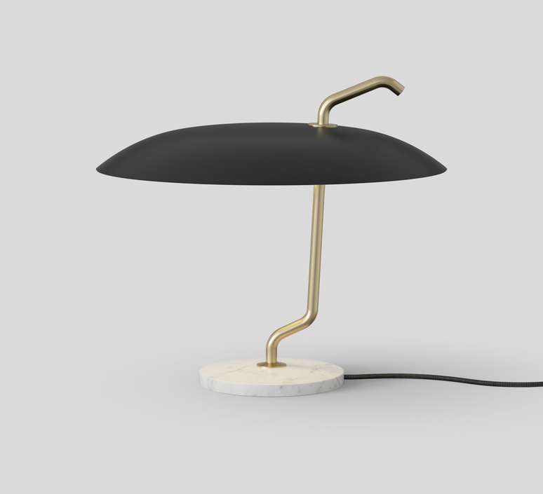 Model 537 gino sarfatti lampe a poser table lamp  astep t09 t21 001b  design signed nedgis 78730 product