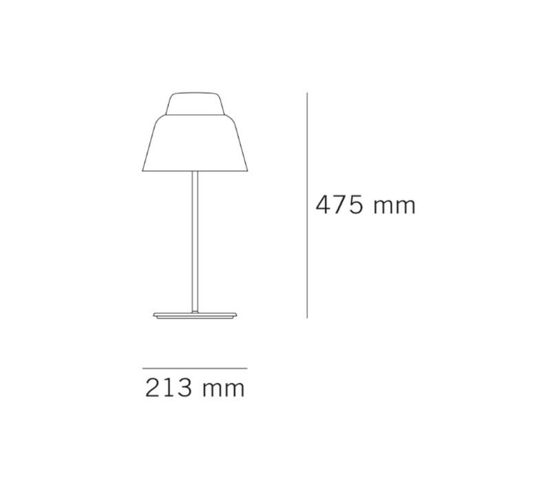 Modu lena billmeier et david baur lampe a poser table lamp  teo t0013 cgr008  design signed 33278 product