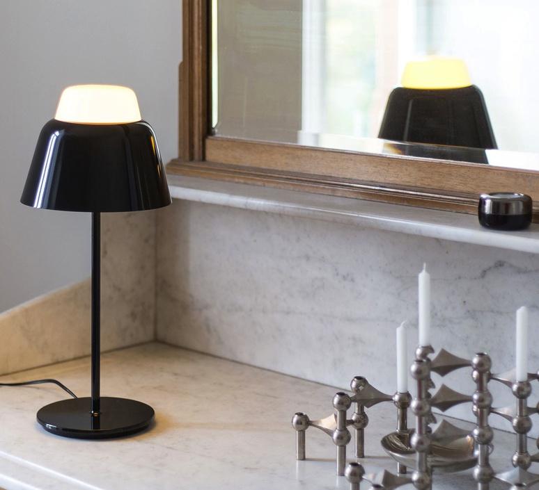 Modu lena billmeier et david baur lampe a poser table lamp  teo t0013 bk006  design signed 33274 product