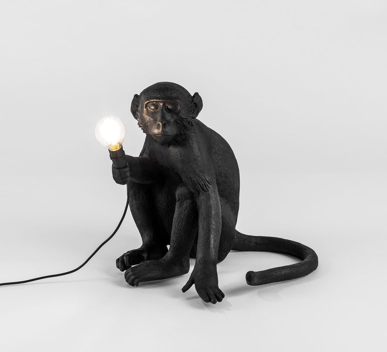 Monkey sitting marcantonio raimondi malerba seletti 14882 luminaire lighting design signed 34095 product