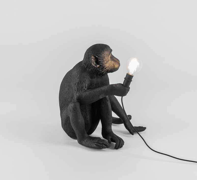 Monkey sitting marcantonio raimondi malerba seletti 14882 luminaire lighting design signed 34096 product