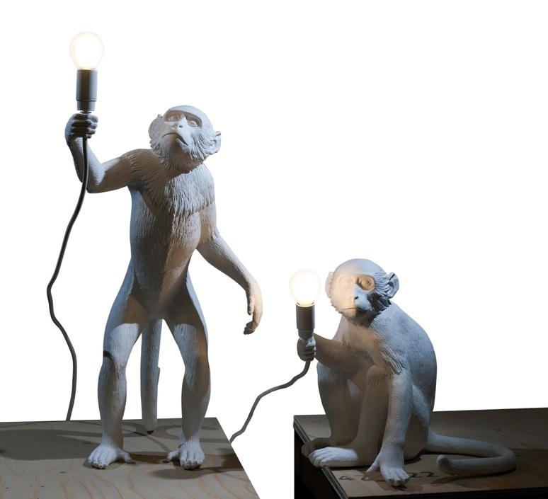 Monkey standing marcantonio raimondi malerba seletti 14880 luminaire lighting design signed 28304 product