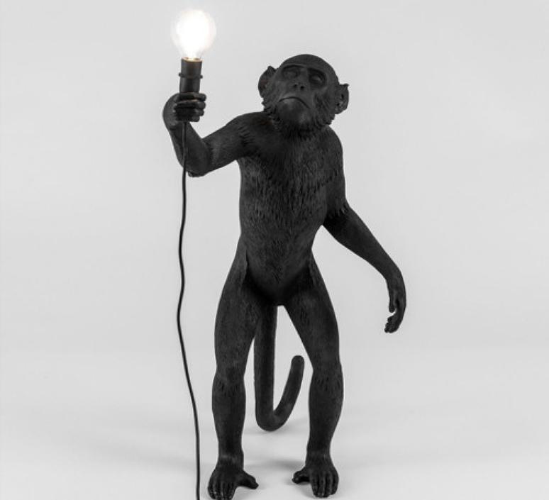 Monkey standing marcantonio raimondi malerba seletti 14880 luminaire lighting design signed 34118 product