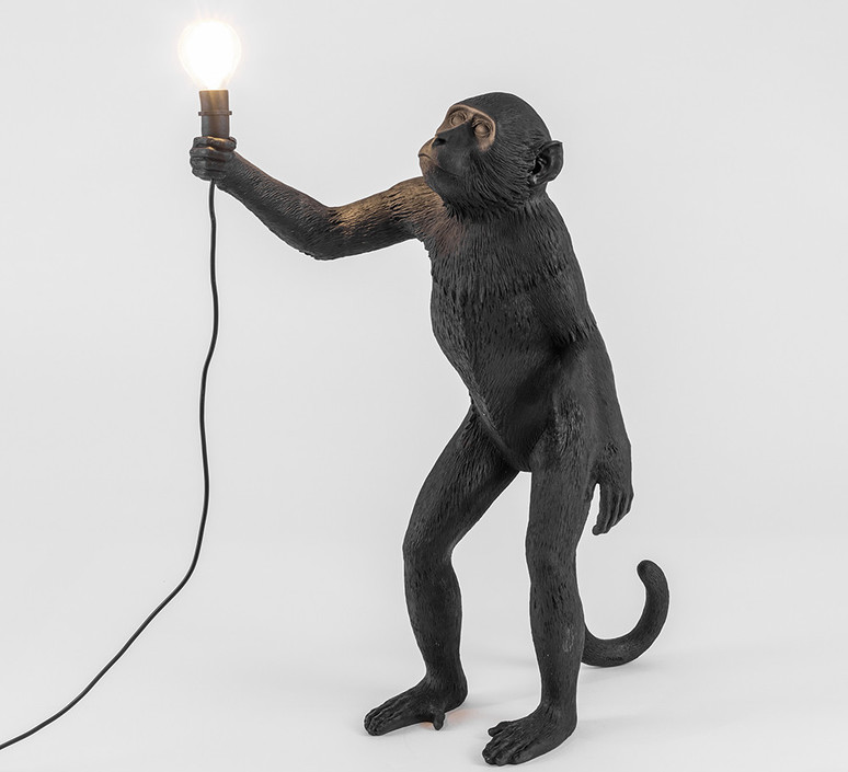 Monkey standing marcantonio raimondi malerba seletti 14880 luminaire lighting design signed 34119 product