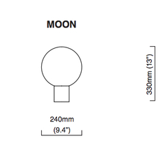 Moon chris et clare turner lampe a poser table lamp  cto lighting cto 03 050 0001  design signed nedgis 121299 thumb