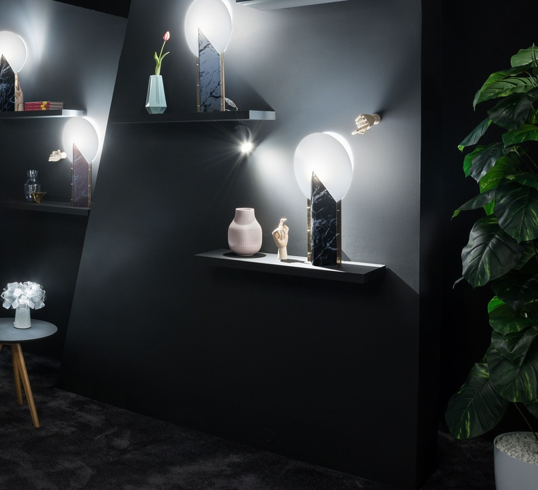 Moon slamp lampe a poser table lamp  slamp moo89tav0000n 000  design signed nedgis 66157 product