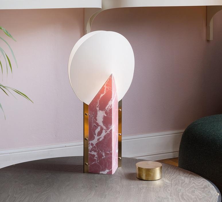 Moon slamp lampe a poser table lamp  slamp moo89tav0000pk 000  design signed nedgis 66165 product