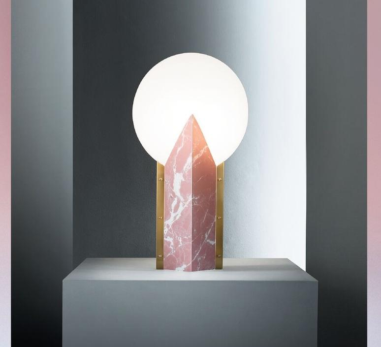 Moon slamp lampe a poser table lamp  slamp moo89tav0000pk 000  design signed nedgis 66166 product