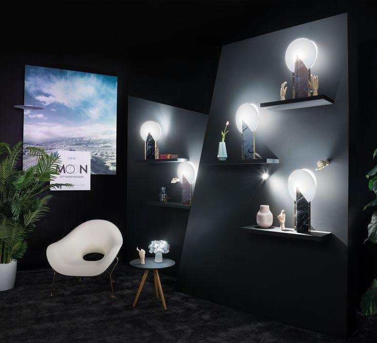 Moon slamp lampe a poser table lamp  slamp moo89tav0000pk 000  design signed nedgis 66167 product