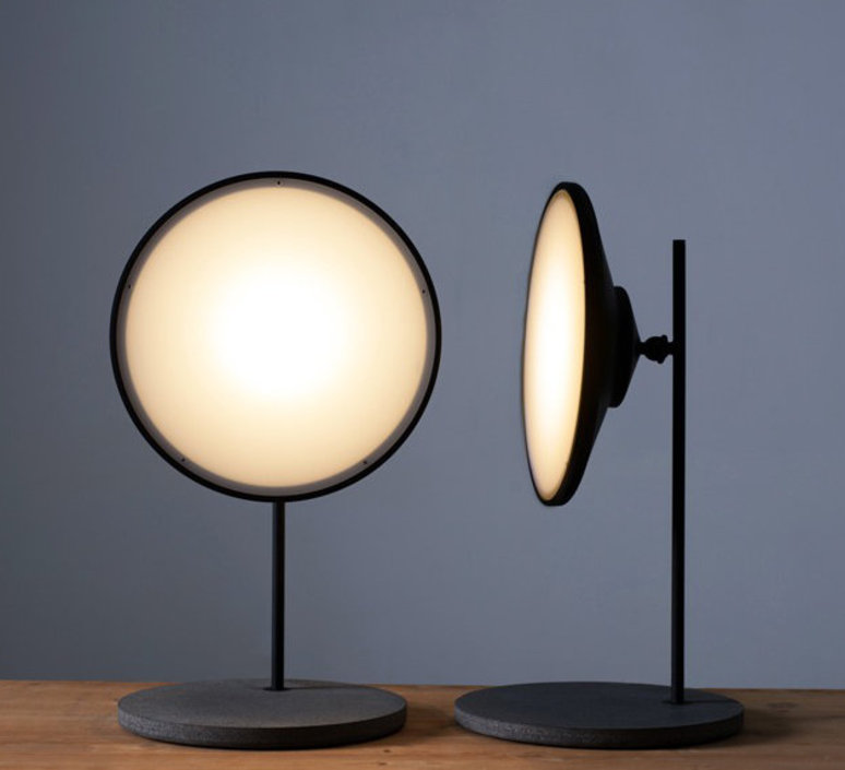 Moons table light nir meiri lampe a poser table lamp  nir meiri moons tablelightmattblack  design signed 56738 product