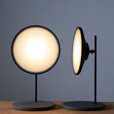 Moons table light nir meiri lampe a poser table lamp  nir meiri moons tablelightmattblack  design signed 56738 thumb