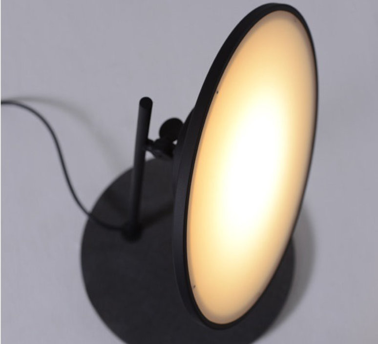 Moons table light nir meiri lampe a poser table lamp  nir meiri moons tablelightmattblack  design signed 56739 product