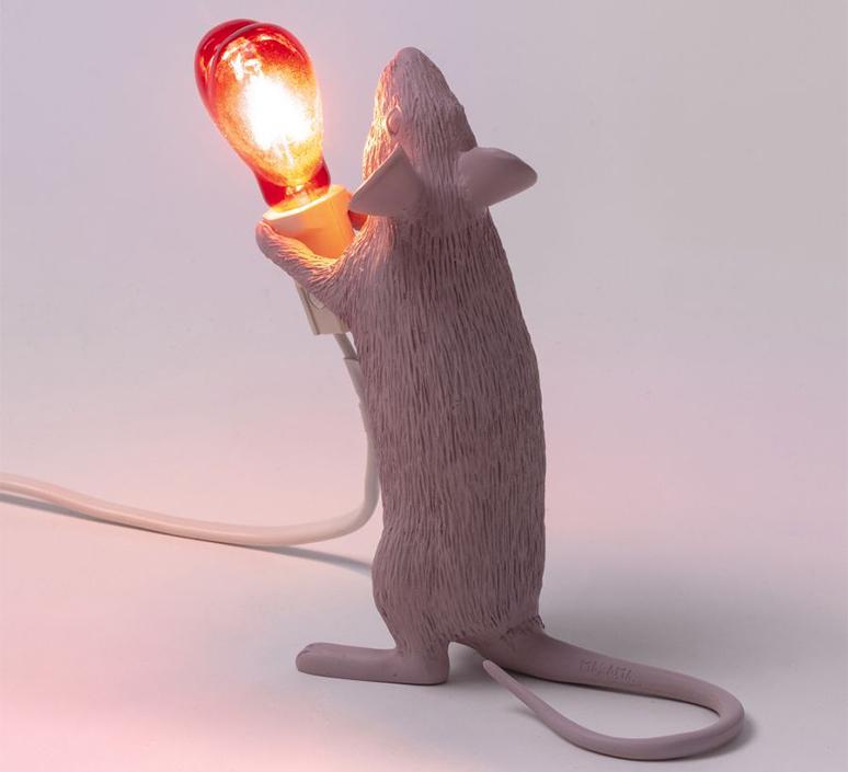 Mouse lamp step standing love edition marcantonio raimondi malerba lampe a poser table lamp  seletti 14884sv  design signed nedgis 97806 product