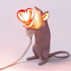 Mouse lamp step standing love edition marcantonio raimondi malerba lampe a poser table lamp  seletti 14884sv  design signed nedgis 97807 thumb
