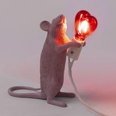 Mouse lamp step standing love edition marcantonio raimondi malerba lampe a poser table lamp  seletti 14884sv  design signed nedgis 97808 thumb