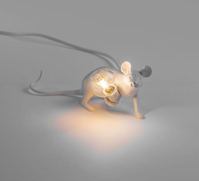 Mouse lie down marcantonio raimondi malerba lampe a poser table lamp  seletti mouse14886  design signed 97824 product