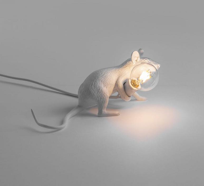 Mouse lie down marcantonio raimondi malerba lampe a poser table lamp  seletti mouse14886  design signed 97825 product