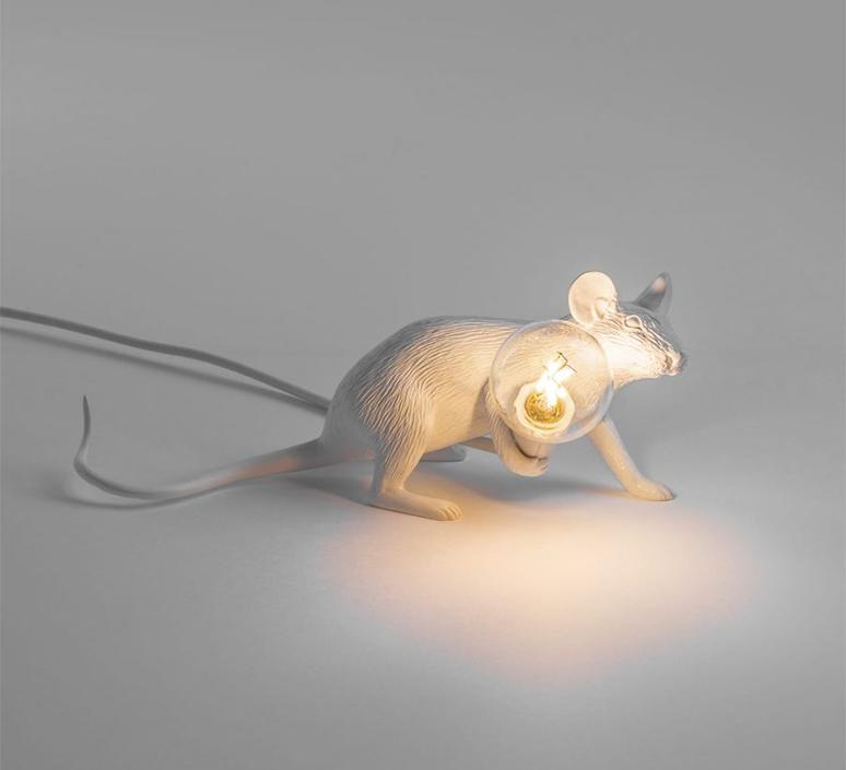 Mouse lie down marcantonio raimondi malerba lampe a poser table lamp  seletti mouse14886  design signed 97826 product