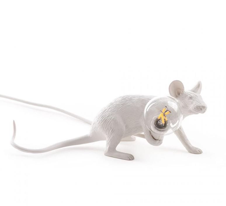 Mouse lie down marcantonio raimondi malerba lampe a poser table lamp  seletti mouse14886  design signed 97827 product