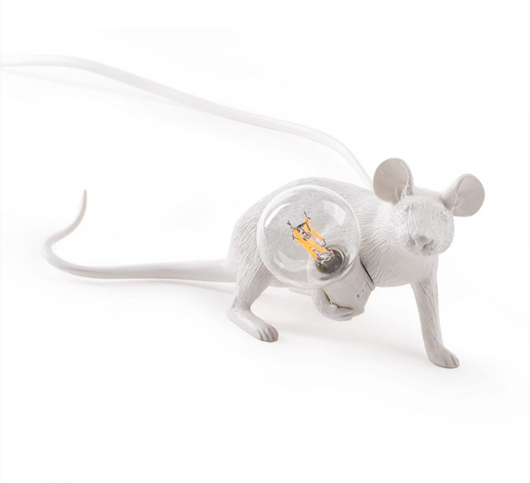 Mouse lie down marcantonio raimondi malerba lampe a poser table lamp  seletti mouse14886  design signed 97829 product
