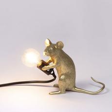 Mouse sitting marcantonio raimondi malerba lampe a poser table lamp  seletti 14942 gld  design signed nedgis 97858 thumb