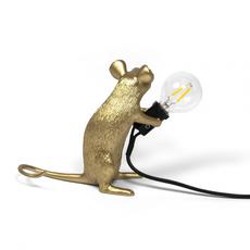 Mouse sitting marcantonio raimondi malerba lampe a poser table lamp  seletti 14942 gld  design signed nedgis 97864 thumb
