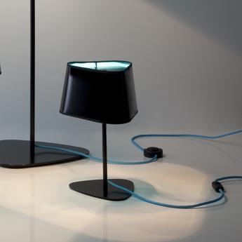 Lampe a poser moyen nuage noir bleu h49cm designheure normal