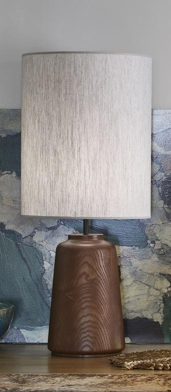 Lampe a poser mozukai blanc o32cm h74cm market set normal