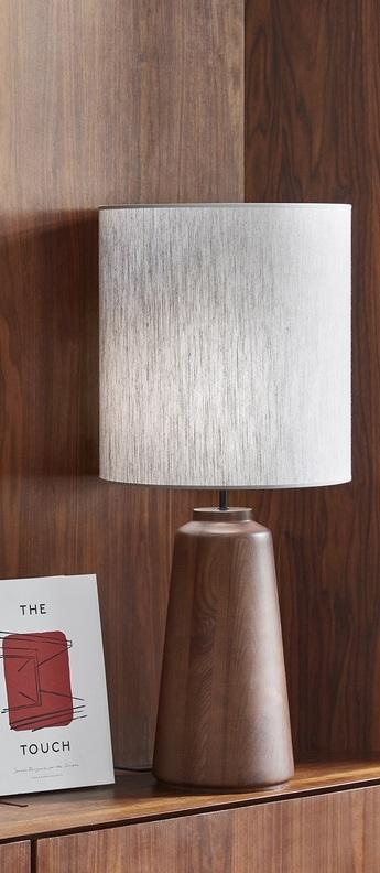 Lampe a poser mozukai blanc o40cm h93cm market set normal