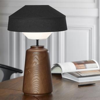 Lampe a poser mozukai noir o38cm h55cm market set normal