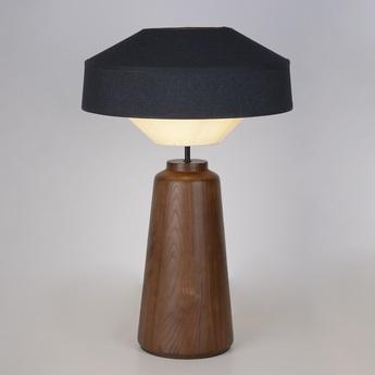 Lampe a poser mozukai noir o48cm h74cm market set normal