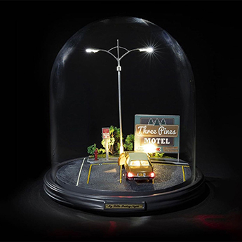 Lampe a poser my little friday night transparent noir 180lm o25 5cm h26 8cm seletti normal
