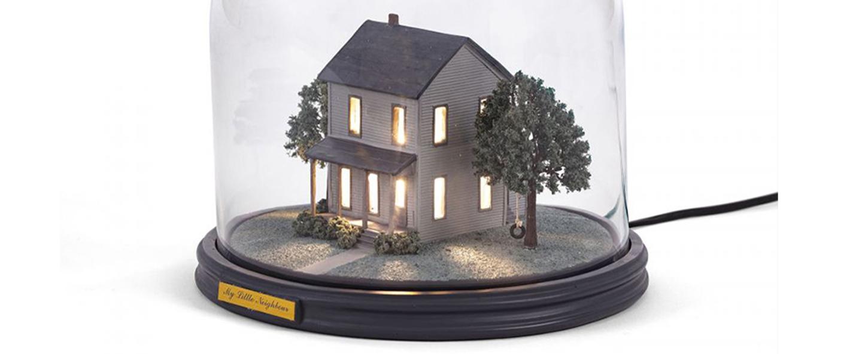 Lampe a poser my little neighbour maison led k lm o25 5cm h26 8cm seletti normal