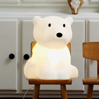 table lamp miffy xl led white h80cm mr maria nedgis lighting. Black Bedroom Furniture Sets. Home Design Ideas