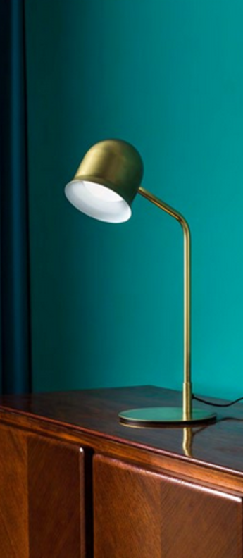 Lampe a poser narciso or o13 7cm h54 4cm torremato normal