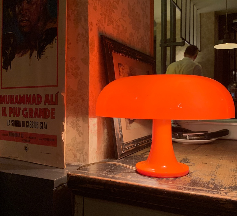 Nessino giancarlo mattioli lampe a poser table lamp  artemide 0039070a  design signed 70961 product