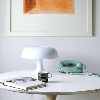 Lampe a poser nesso blanc o54cm h34cm artemide normal