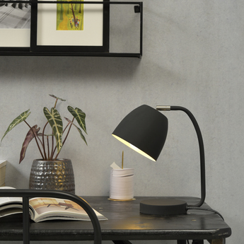 Lampe a poser newport noir h28cm o13cm it s about romi normal