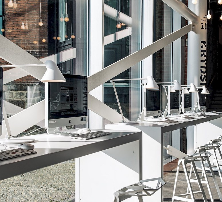 Njp studio nendo lampe a poser table lamp  louis poulsen 5744164744  design signed 49178 product