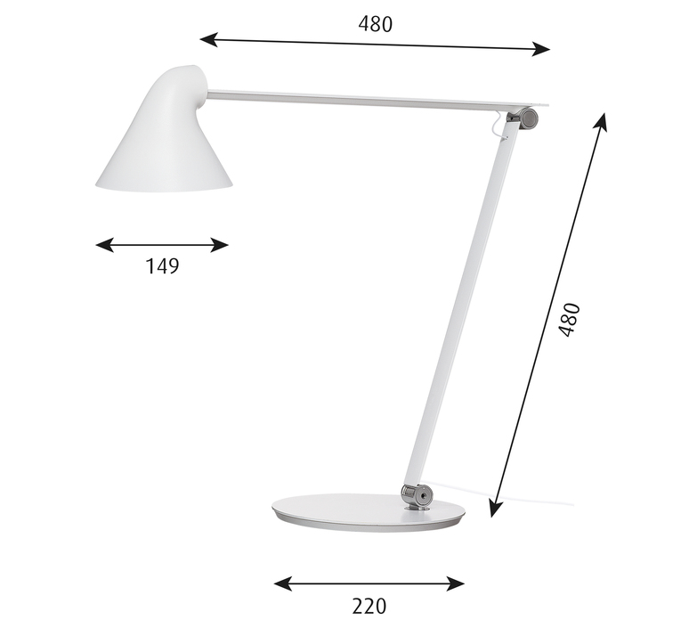Njp studio nendo lampe a poser table lamp  louis poulsen 5744164744  design signed 49180 product