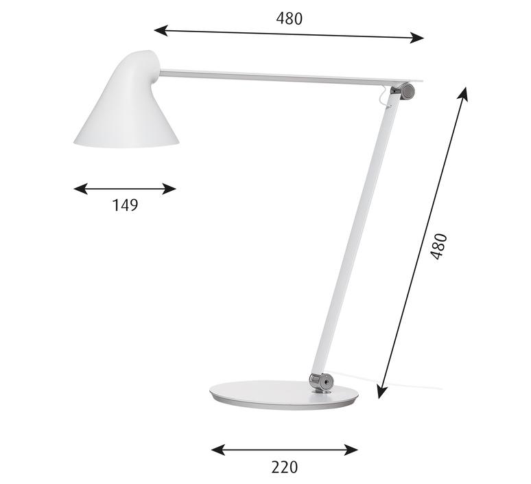 Njp studio nendo lampe a poser table lamp  louis poulsen 5744164744  design signed 49180 product