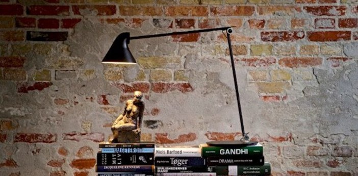 Lampe a poser njp noir led l22cm h48cm louis poulsen normal