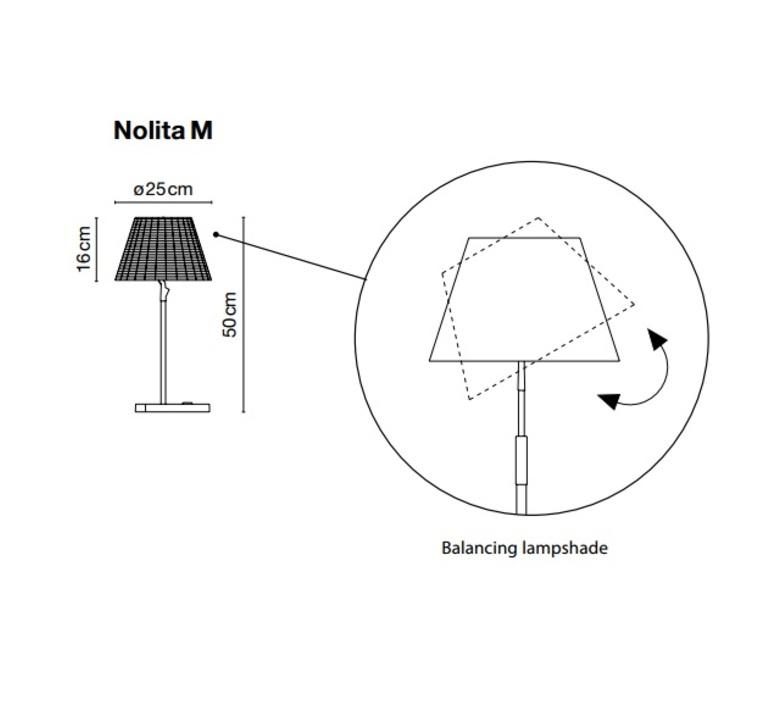 Nolita joan gaspar marset a617 030 luminaire lighting design signed 14135 product