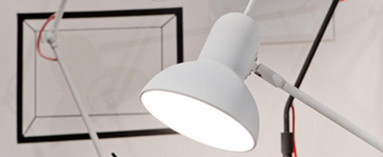 Lampe a poser nottingham blanc mat o16cm h73cm it s about romi normal