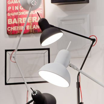 Lampe a poser nottingham blanc mat o16cm h73cm it s about romi normal