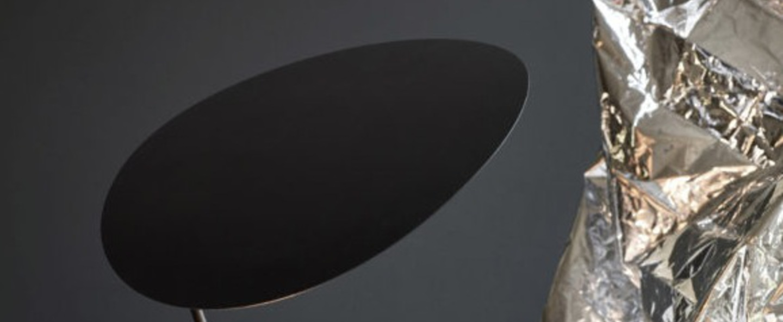 Lampe a poser ombre noir o30cm h47cm northern normal